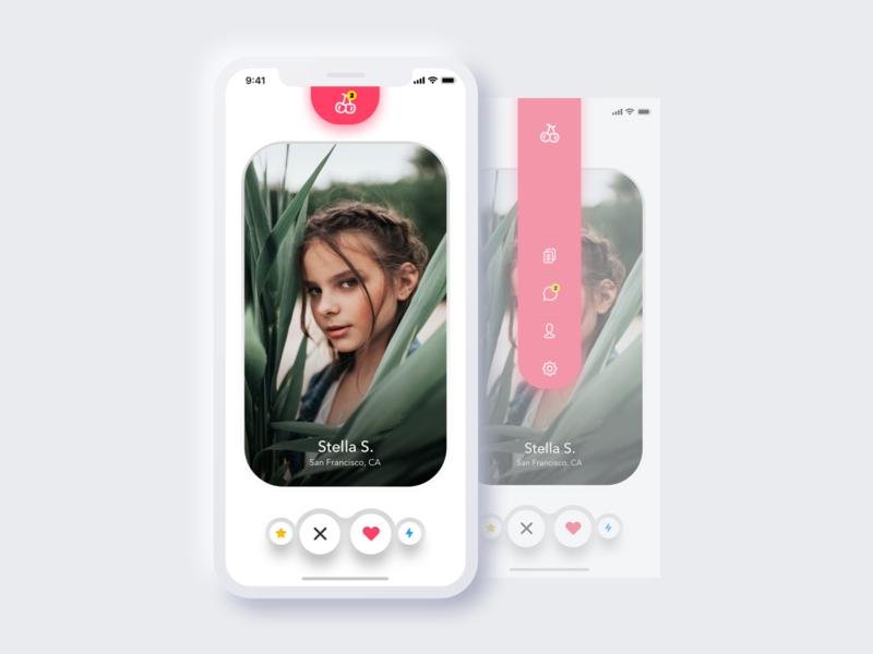 Cherrie Matcher app mobile gay dating lgbt lesbian social network dating app dating