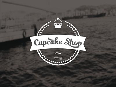 Cupcake Shop Label