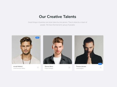 Creative Team travel startup responsive products landing portfolio listing job insurance gym and fitness creative corporate charity business bootstrap agency