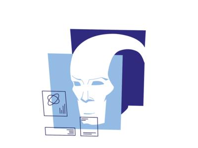 A logo for a Smart AI type of app. design application design artificial intelligence design art illustrator illustration illustration art logo branding