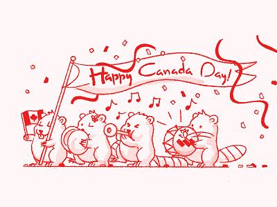 Happy Canada Day! illustraion procreate app procreate red canada day canada