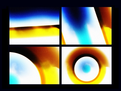 Bad Moon Rising abstract art abstract animation styleframe photoshop