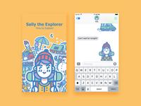 Sally The Explorer Stickerpack