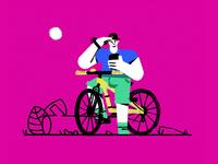 Vancouver Bike Rider