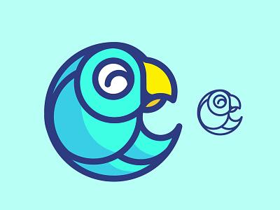 Happy Bird Logo bird design branding icon icons logo illustration