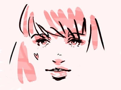 Hey Heartthrob styleframe photoshop illustration