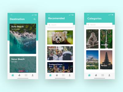 Travel Mobile App | #Exploration