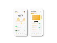 Fintech app light mode