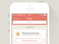Therapy App Concept