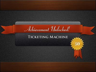 Achievement achievement zero originality ribbon badge medal gold red black dark wood