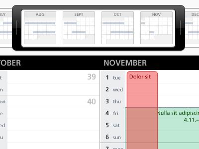 Calendar Range calendar date month week day event planner campaign