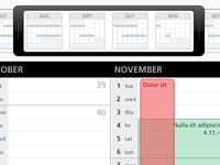 Calendar Range