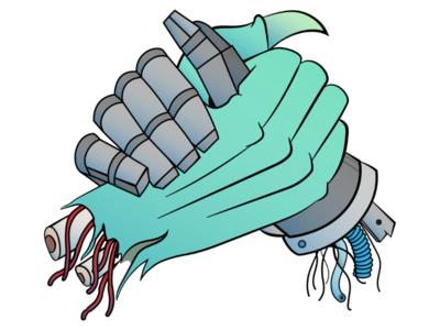 Monsters & Robots Illustration