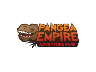 Pangea Empire Adventure Park logo concept