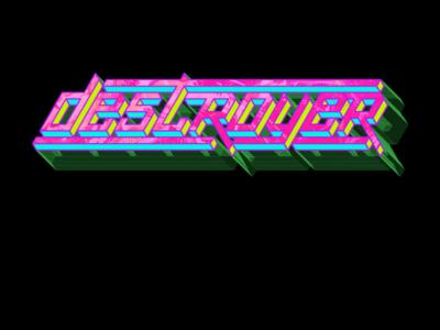 Destroyer Logo Illustration