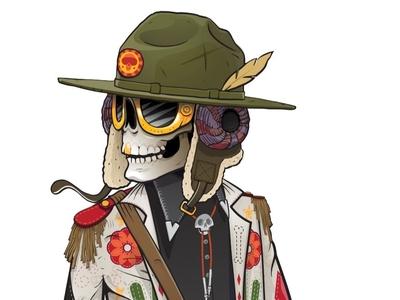 Voodoo Ranger Character Design