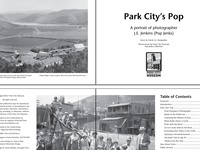 """Book Design & Publishing for """"Park City's Pop"""""""