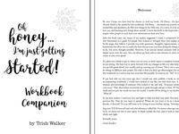 "Book Interior Design for ""Oh Honey... Workbook"""