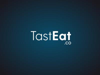 TastEat.co Logo color graphism design illustration brand identity logo