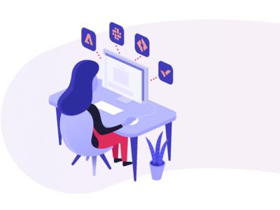 On-boarding Integrations art character illustrator vector illustration web ux ui product minimal logo identity flat design branding app