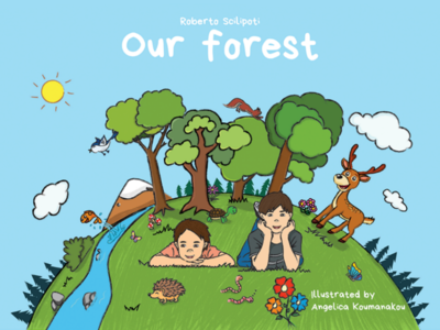 Our forest animals character design childrens book digital illustration illustration cartoon