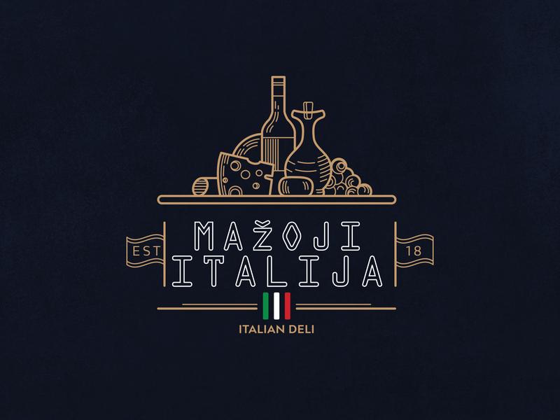 Mažoji Italija (Little Italy) olive italy foodie winery restaurant italian food italian cheese market wine food