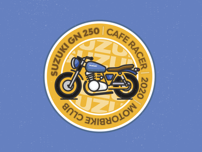 Cafe Racer Emblem stroke illustration icon ilustration emblem design emblem logo club emblem motorsport label design motorcycle motorcycle club moto vintage motorbike cafe racer
