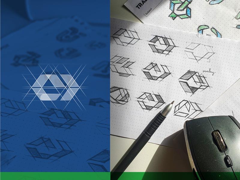 Logo design process monogram identity drawing sketch logo design illiustration icon design branding logo vector