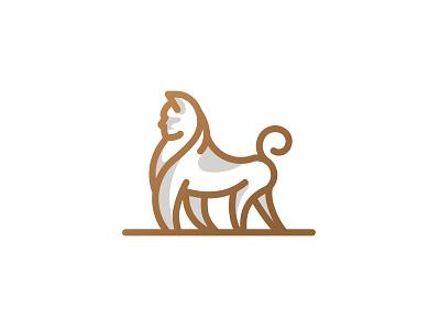 Lionilla logo designer animation stroke vector icon branding logo