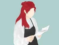 Read a Recipe photoshop sketch minimal art design illustration