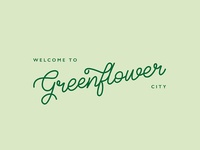 City Logo Greenflower