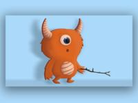 Little Orange Monster