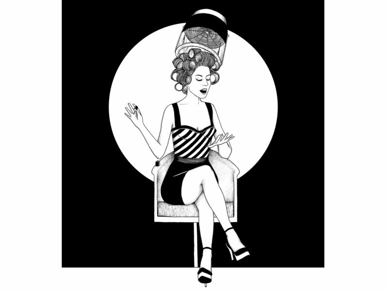 Pinup - © by the ink - Cécile Ollichon