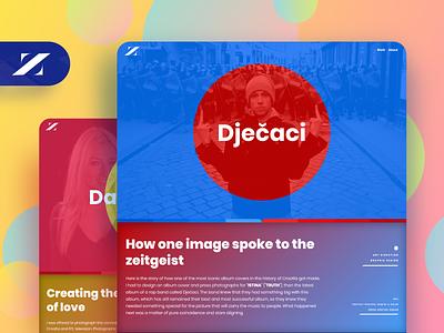 Zonwrk portfolio :: Work user inteface ui website colorful portfolio web design web webflow