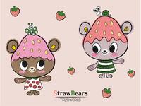 Strawbears