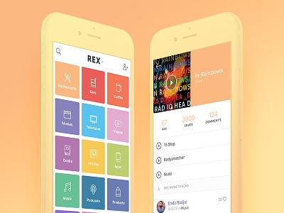Gradient Phone Hero Treatment mockup ui gradient phones ios presentation menu hero grid screen