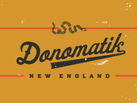 Donomatik script logo 'Daisy'