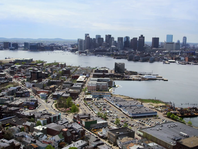 East Boston real estate animation after effects loop video typogaphy city new england east boston boston mograph motion design motion graphics motion