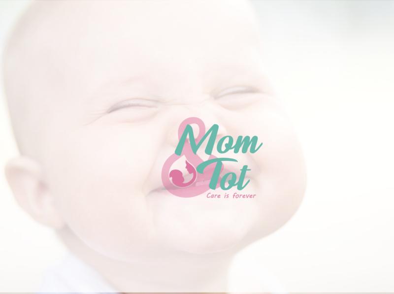 Baby care brand color goldenratio brand identity care logodesign logo baby branding