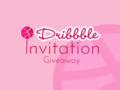 Dribbble Invitation Giveaway
