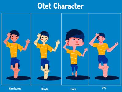 Otet Cartoon Character