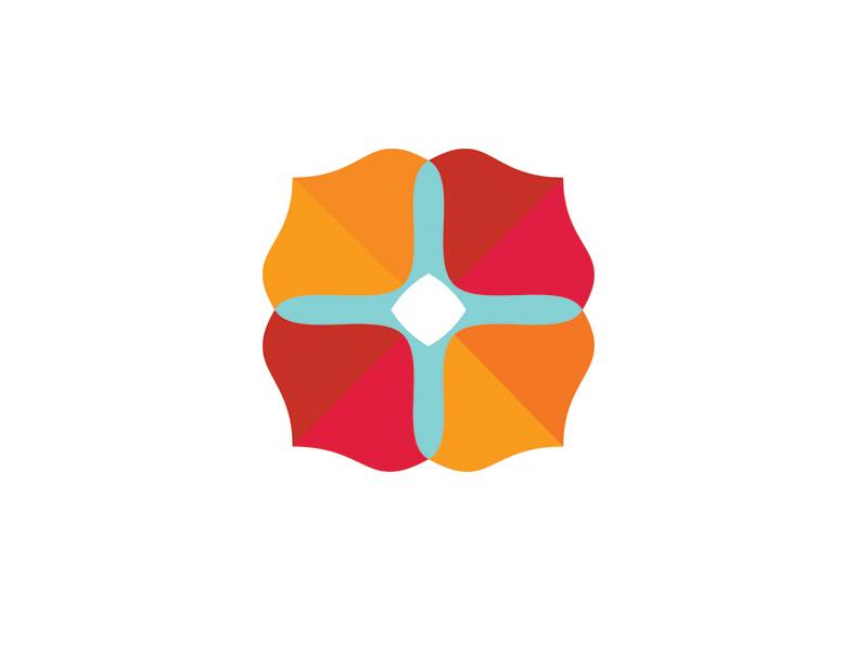Brand Identity for amuandpri  brand identity logo floral fresh
