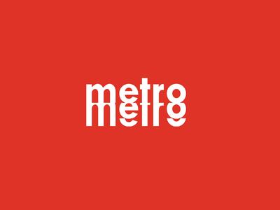 Metro Identity brand design branding identity mark logo concept transit metro minneapolis