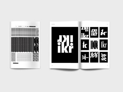 Typographic Mark Making typography graphic design design futura mark type book cover