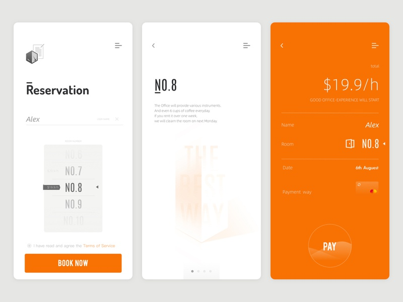 Block squared - APP UI brand uiux ux  ui brand design logo uidesign app checkout ui