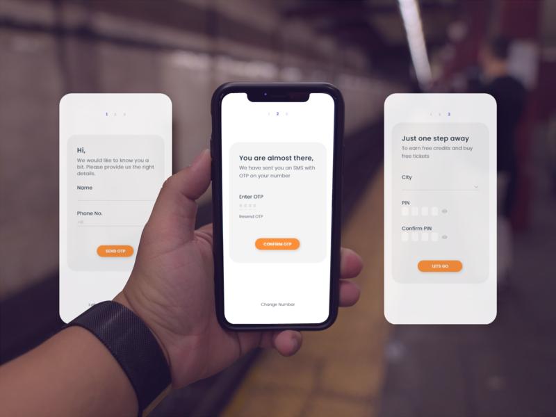 Ticket Booking App [Traveleze] booking app ticket booking uidesign uiux ui signupform login page app design @design @dailyui @daily-ui adobe xd