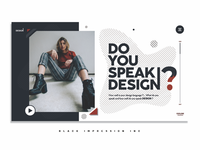 UI concept for a Design team