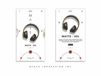 UI concept - Matte