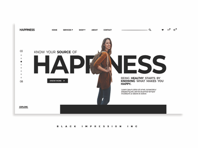 Ui concept - Happiness