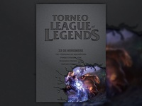 Poster - League of Legends' Tournament